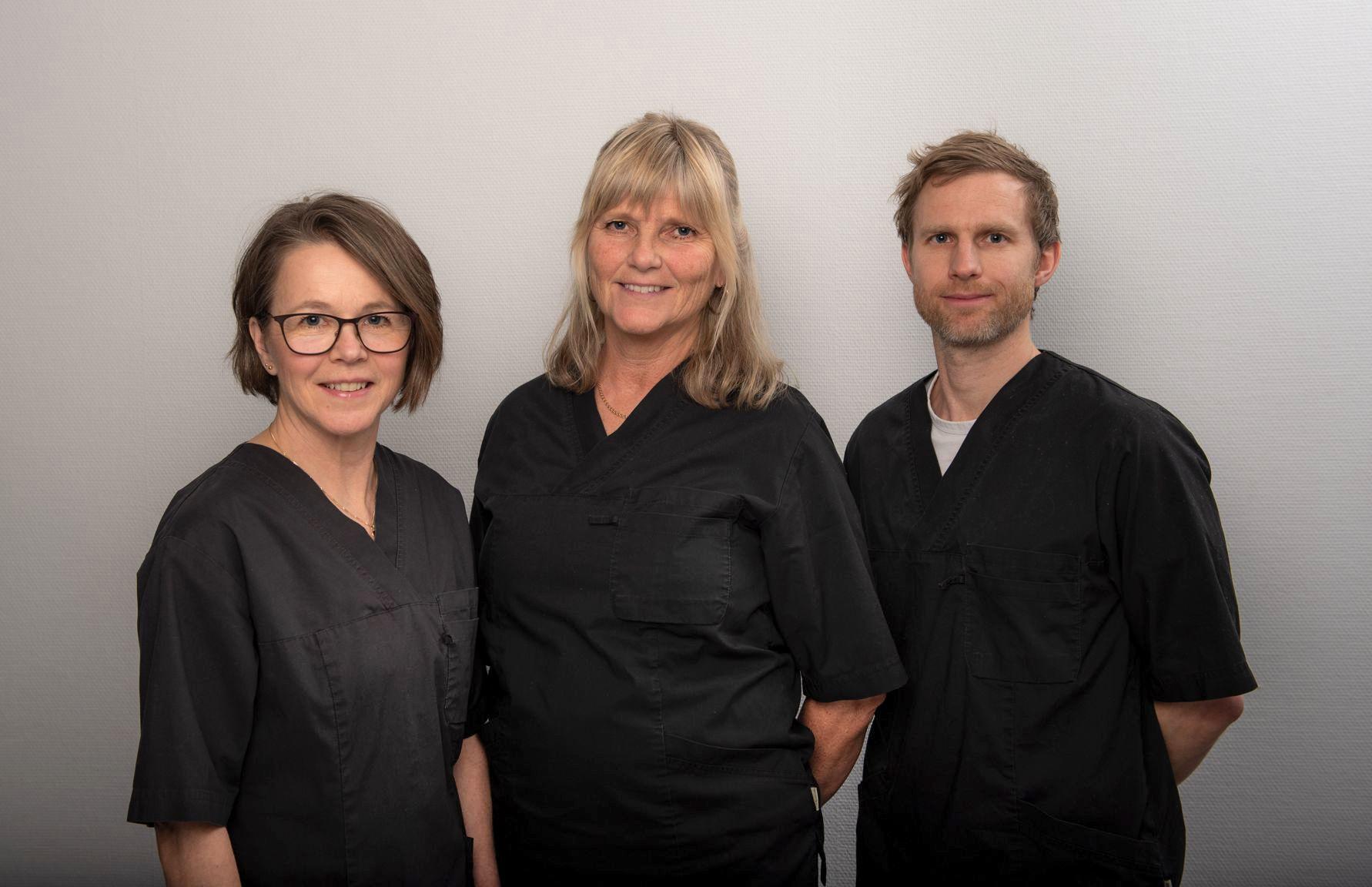RehabCentralens medarbetare Åsa Birgitta och Jesper
